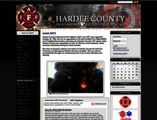 iafflocal3471.org screenshot