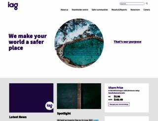 iag.com.au screenshot