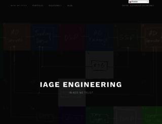 iageengineering.net screenshot