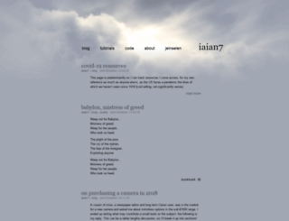 iaian7.com screenshot