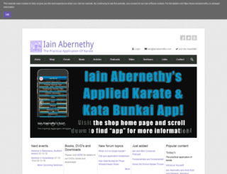 iainabernethy.co.uk screenshot