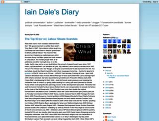 iaindale.blogspot.com screenshot