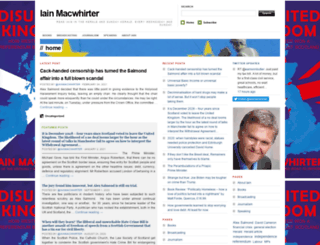 iainmacwhirter.wordpress.com screenshot