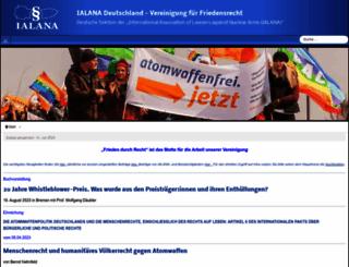 ialana.de screenshot