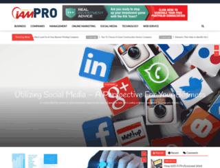 iam-pro.com screenshot