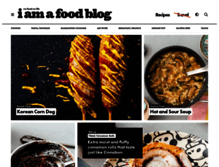 iamafoodblog.com screenshot