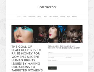 iamapeacekeeper.com screenshot