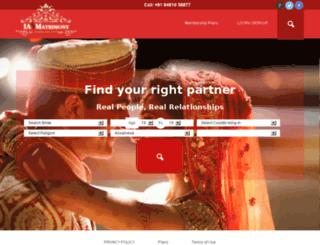 iamatrimony.com screenshot