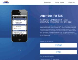 iambic.com screenshot