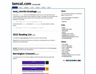 iamcal.com screenshot