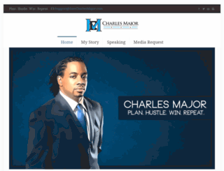 iamcharlesmajor.com screenshot