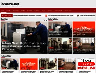 iameve.net screenshot