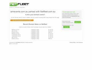 iamevents.com.au screenshot
