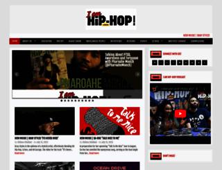 iamhiphopmagazine.com screenshot