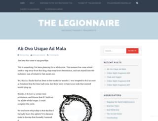 iamlegionnaire.wordpress.com screenshot