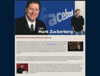 iammarkzuckerberg.com screenshot
