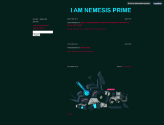 iamnemesisprime.tumblr.com screenshot
