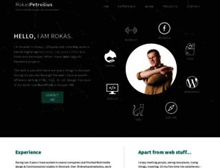 iamrokas.com screenshot