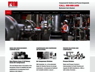 iandmindustrials.com screenshot