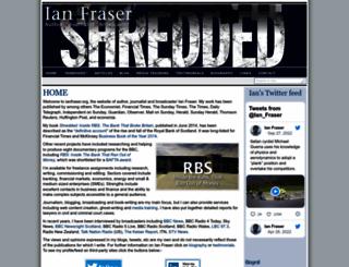 ianfraser.org screenshot