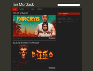 ianmurdock.com screenshot