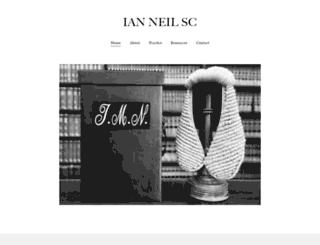 ianneil.com screenshot