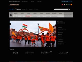 iansphoto.in screenshot