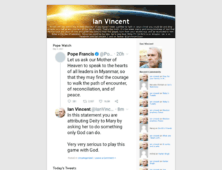 ianvincent.org screenshot