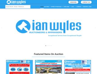 ianwyles.co.za screenshot