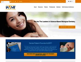 iaomt.org screenshot
