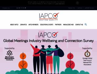 iapco.org screenshot