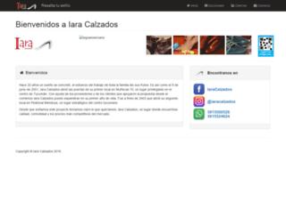 iaracalzados.com.ar screenshot