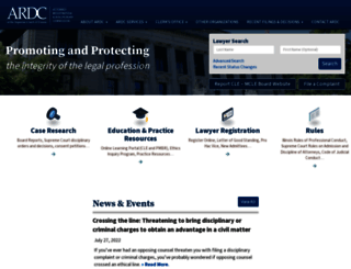 iardc.org screenshot