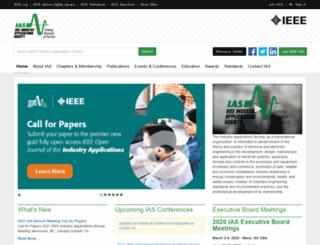 ias.ieee.org screenshot
