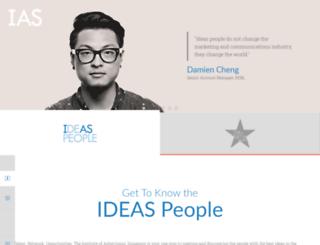 ias.org.sg screenshot