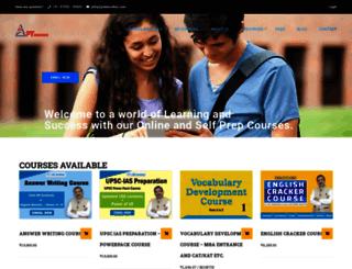 ias.pteducation.com screenshot