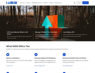 iasg.com screenshot