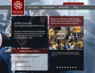iatse481.com screenshot