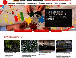 iau-idf.fr screenshot