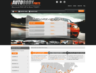 iautobodyparts.com screenshot