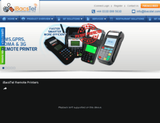 ibacstel.com screenshot