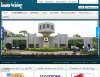 ibadansociology.org screenshot