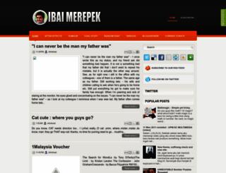 ibaimerepek.blogspot.com screenshot
