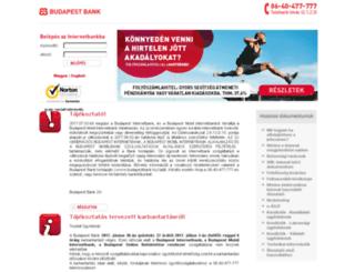 ibank.budapestbank.hu screenshot