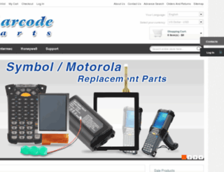 ibarcodeparts.com screenshot