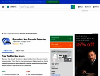 ibarcoder_-_generator_von_mac_barcode.en.softonic.com screenshot
