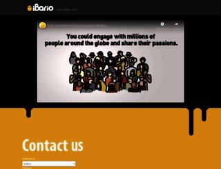 ibario.com screenshot
