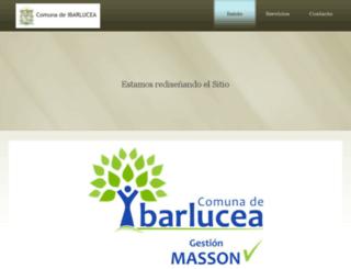 ibarlucea.gov.ar screenshot