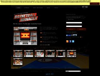 ibasketmanager.com screenshot