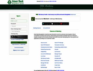 ibblportal.islamibankbd.com screenshot